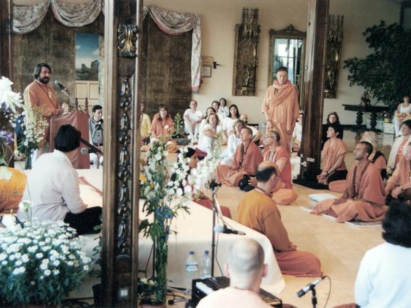 Swami Tirthananda - Dr. Francisco Luid